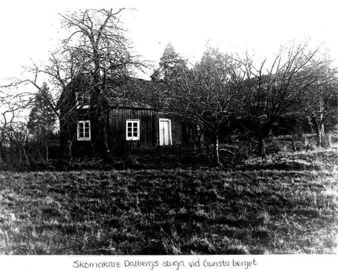 Skomakare Dalbergs stuga vid Gunstaberget